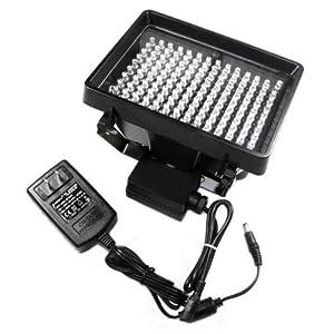 Night Vision 140 LED IR Infrared Illuminator Lamp 850nM with 12V Power Adapter