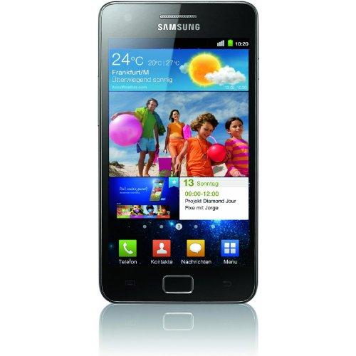SAMSUNG i9100G Galaxy S II Android 2.3 - Schwarz