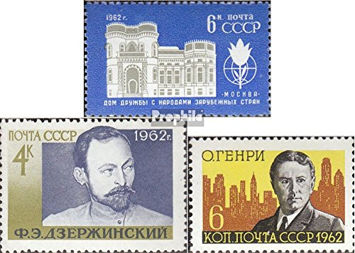 Sowjet-Union 2637,2642,2643 (kompl.Ausg.) postfrisch 1962 Sondermarken (Briefmarken für Sammler)