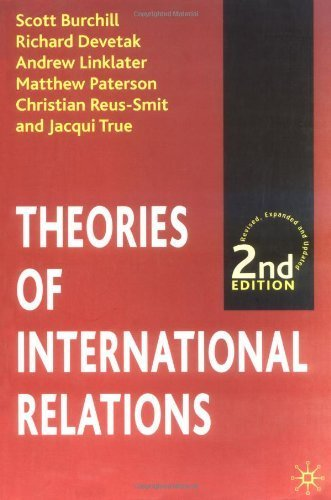 Theories of International Relations, Second Edition by Scott Burchill (2001-11-17)