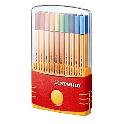 Stabilo Point 88 Pen Sets color parade adjustable set set of 20