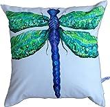 My Island Decorative Pillows, Dragonfly B
