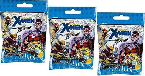 3 (Three) Pack of Marvel Dice Masters: Uncanny X-Men Booster Packs - 1