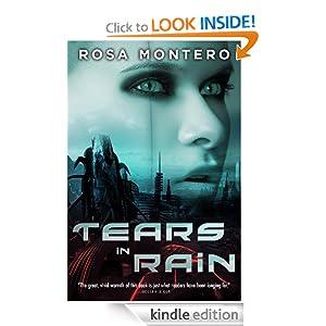 Tears in Rain, by Rosa Montero