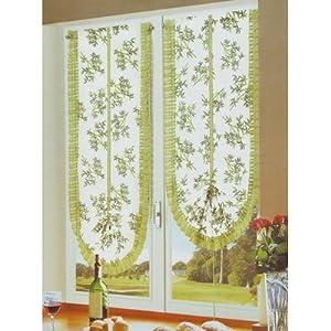 Coppia tende finestra 60x230 si arricciano - Tendine vetro finestra ...
