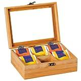 Kesper 50902 Tee-Box aus Bambus