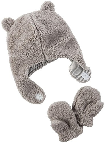 Carter's Baby Boys Winter Hat-glove Sets D08g188, Grey, 0-9M