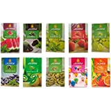 SG Shahi Hookah Flavour (Cardamom, Chocolate With Mint, Grape, Grape With Mint, Strawberry, Orange, Bubble Gum, Kiwi, Blueberry & Watermelon) (Pack Of 10)