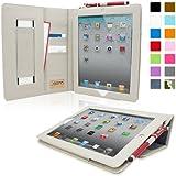 Snugg™ - Funda Ejecutivo Para iPad Air 2 - Smart Case Con Espacios Para Tarjetas Y Una Garantía De Por Vida (Azul Denim) Para Apple iPad Air 2