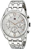Tommy Hilfiger Men's 1791186 Sophisticated Sport Analog Display Quartz Silver Watch