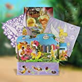 Tinkerbell's Creativity Basket Great Get Well, Birthday Gift Ideas for Girls Under 10