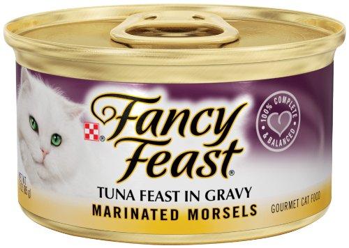 Fancy Feast Marinated Morsels Tuna Feast In Gravy