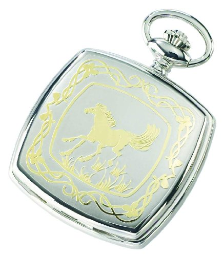 Charles-hubert, Paris Charles-hubert Paris Two-tone Quartz Pocket Watch