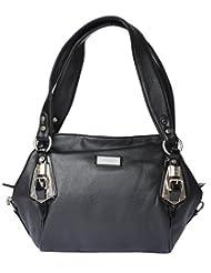 Bsb Trendz Women's PU Handbag (Black)