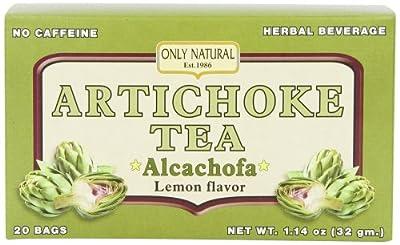 Only Natural Diuretic Artichoke Tea, 20 Count