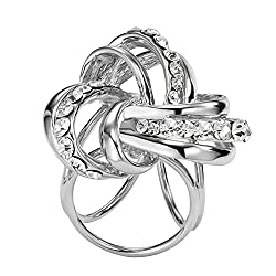 Contever® Fashionable Buckle Scarf / Shawl / Silk Scarves Clip Holder Ring Designer for Elegant Lady from Contever