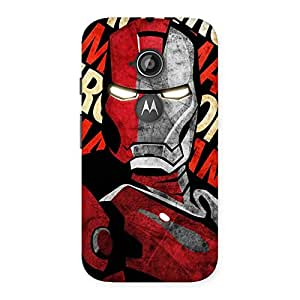 Delighted Introduction Man Back Case Cover for Moto E 2nd Gen