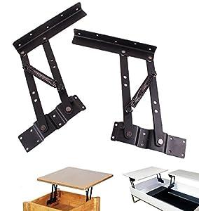 Lift Up Modern Coffee Table Mechanism Hardware Fitting Furniture Hinge Spring