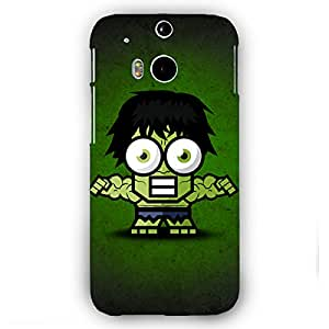 EYP Big Eyed Superheroes Hulk Back Cover Case for HTC One M8 Eye