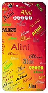 Alini (Life) Name & Sign Printed All over customize & Personalized!! Protective back cover for your Smart Phone : Moto G-4-PLAY