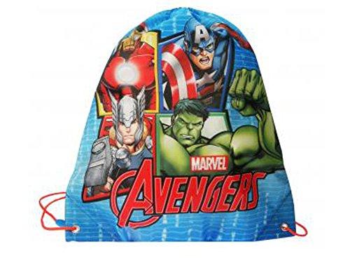 Marvel Avengers Sport sacchetto-Sacca da ginnastica-impermeabile-Sacca per scarpe Lavabile (nl7319)