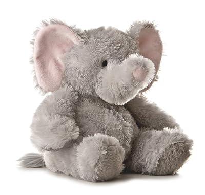 Aurora Plush 12 inches Elephant Tubbie Wubbie (Light Grey) by Aurora Plush