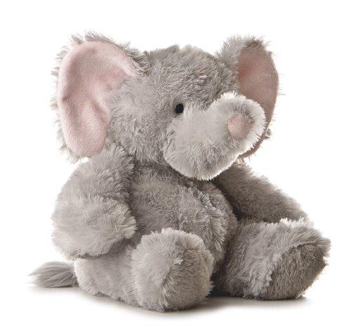 Imagen de Aurora Plush 12 pulgadas Elephant Tubbie Wubbie (gris claro)