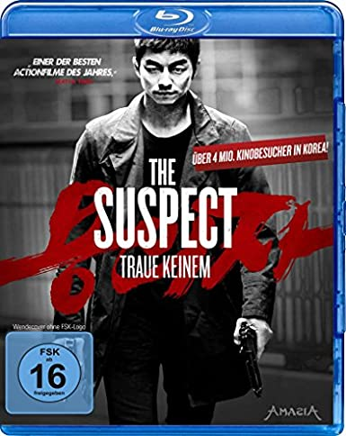 The Suspect - Traue keinem, Blu-ray