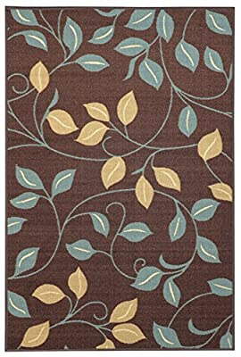 """Rubber Back LARGE AREA RUG Anti-Microbial Low Profile XL Rugs 9'10"""" x 13'1"""" 