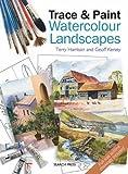 Trace & Paint Watercolour Landscapes