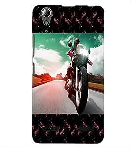 PrintDhaba Bike D-6040 Back Case Cover for LENOVO A6000 PLUS (Multi-Coloured)