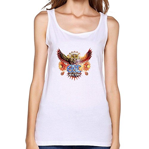 SUNRAIN Women's 2016 Electric Daisy Carnival EDC New York Logo Tank Top