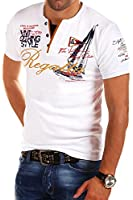 MT Styles - R-2637 - T-shirt 2 en 1 - inscription « Regatta » et imprimé