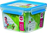 Emsa 'Gesunde Frische' (Healthy Freshness) 508537 Clip & Close Food Container Box 1.75 L Square