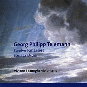 Georg Philipp Telemann, Twelve Fantasies