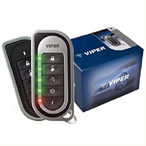 Viper 5701 (P/n 5202v, 5202b) 2-way Remote Start Car Alarm with One LED Trans...