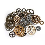 LING'S SHOP 42Pcs Mixed Style Silver...