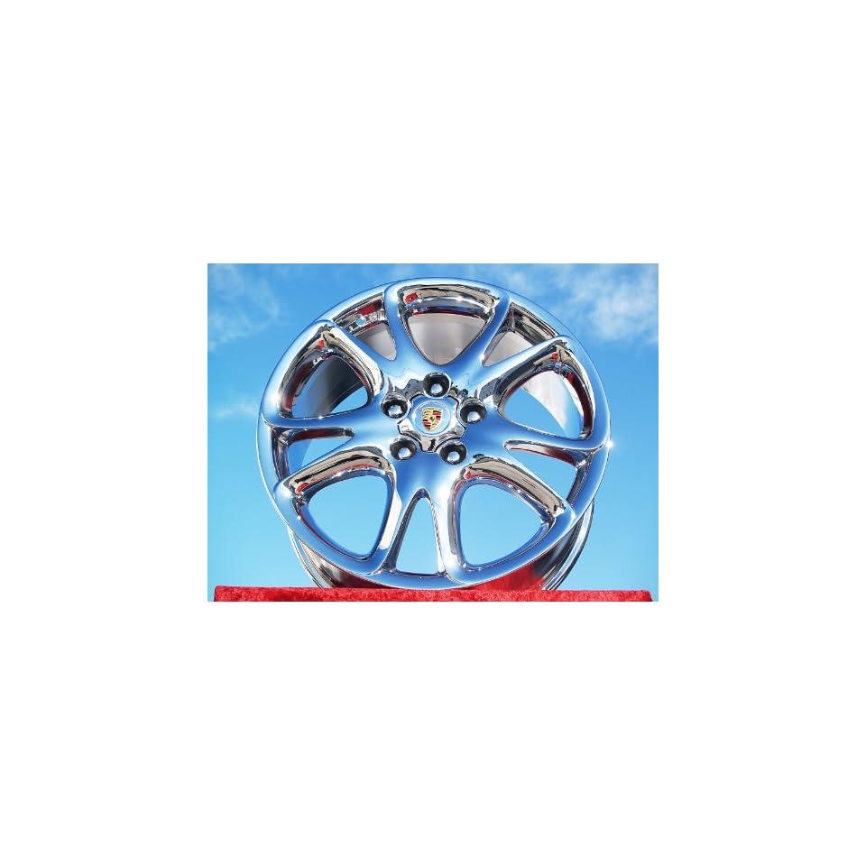 Porsche CayenneSport Design Set of 4 genuine factory 20inch chrome wheels