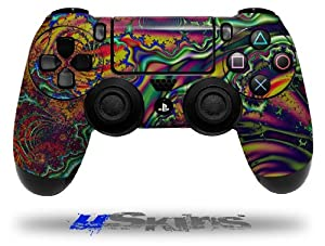 Fire And Water - Decal Style Wrap Skin fits Sony PS4 Dualshock 4 Controller - CONTROLLER NOT INCLUDED
