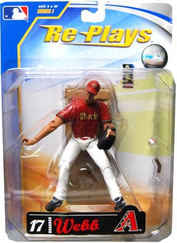 "Major League Baseball 4"" Action Figure Brandon Webb - 1"