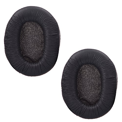 Cosmos ® 1 Pair Black Color Replacement Earpad Ear Pad Cushion for Sony MDR-7506 and MDR-V6 Headphones (Mdr V6 Pads compare prices)