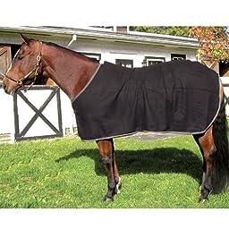 High Spirit Wool Day Cooler Sheet, Medium, Black