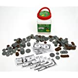 "Eureka Tub Of Money, 318 Pieces in 3 3/4"" x 5 1/2"" x 3 3/4"" Tub"