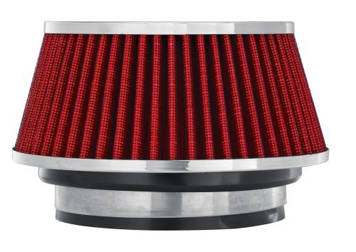 Spectre Performance 8162 Red Small Cone Air Filter by Spectre Performance