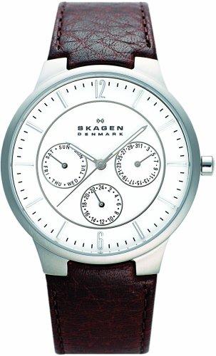 SKAGEN (スカーゲン) 腕時計 basic leather mens 331XLSL1 ケース幅: 37.5mm メンズ [正規輸入品]