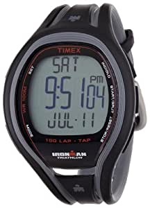 Timex Ironman Sleek 150 Lap Tapscreen T5K253SU Men's Digital Quartz Watch with Black Resin Strap