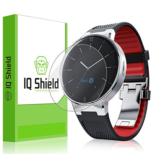 IQ Shield LiQuidSkin [6-Pack] - Alcatel OneTouch Watch Screen Protector with Lifetime Replacement Warranty - High Definition (HD) Ultra Clear Smart Film - Premium Protective Screen Guard - Extremely Smooth / Self-Healing / Bubble-Free Shield - Kit co