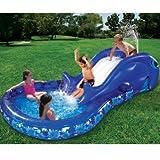 Slide N' Splash Whale Pool