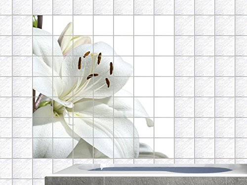graz design 765226 15x15 90 v fliesenaufkleber fliesentattoos f r bad k che k chenfliesen wei e. Black Bedroom Furniture Sets. Home Design Ideas