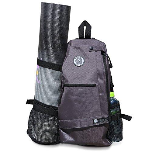 Aurorae Yoga Multi Purpose Crossbody Sling Back Pack (Dicks Sporting Goods Water Bottle compare prices)